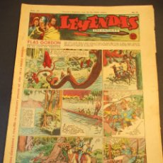 Tebeos: LEYENDAS INFANTILES (1942, SENDA / HISPANO AMERICANA) 115 · 18-VII-1944 · LEYENDAS INFANTILES / LEY. Lote 248937365