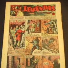 Tebeos: LEYENDAS INFANTILES (1942, SENDA / HISPANO AMERICANA) 113 · 4-VII-1944 · LEYENDAS INFANTILES / LEYEN. Lote 248940720