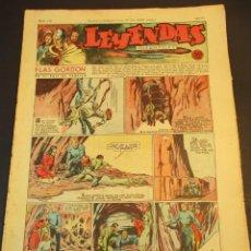 Tebeos: LEYENDAS INFANTILES (1942, SENDA / HISPANO AMERICANA) 112 · 27-VI-1944 · LEYENDAS INFANTILES / LEYE. Lote 248941140