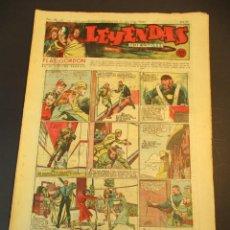 Tebeos: LEYENDAS INFANTILES (1942, SENDA / HISPANO AMERICANA) 110 · 13-VI-1944 · LEYENDAS INFANTILES / LEYEN. Lote 248941855