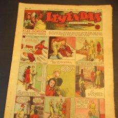 Tebeos: LEYENDAS INFANTILES (1942, SENDA / HISPANO AMERICANA) 109 · 6-VI-1944 · LEYENDAS INFANTILES / LEYEN. Lote 248942275
