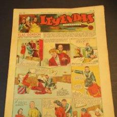 Tebeos: LEYENDAS INFANTILES (1942, SENDA / HISPANO AMERICANA) 108 · 30-V-1944 · LEYENDAS INFANTILES / LEYEND. Lote 248942485