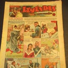Tebeos: LEYENDAS INFANTILES (1942, SENDA / HISPANO AMERICANA) 105 · 9-V-1944 · LEYENDAS INFANTILES / LEYENDA. Lote 248943180