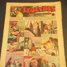 Tebeos: LEYENDAS INFANTILES (1942, SENDA / HISPANO AMERICANA) 104 · 2-V-1944 · LEYENDAS INFANTILES / LEYENDA. Lote 248943410