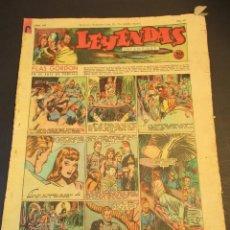 Tebeos: LEYENDAS INFANTILES (1942, SENDA / HISPANO AMERICANA) 101 · 11-IV-1944 · LEYENDAS INFANTILES / LEYEN. Lote 248944695