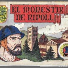 Tebeos: EL MONESTIR DE RIPOLL - HISTORIA I LLEGENDA - Nº 10. Lote 251368710