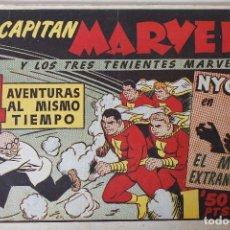 Tebeos: EL CAPITÁN MARVEL, EDITORIAL HISPANO AMERICANA 1947, NÚMERO 37 ORIGINAL. Lote 251845755