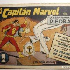 Tebeos: EL CAPITÁN MARVEL, EDITORIAL HISPANO AMERICANA 1947, NÚMERO 4 ORIGINAL. Lote 251893515