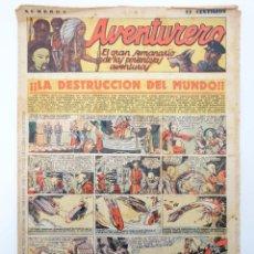 Tebeos: AVENTURERO. SEMANARIO DE LAS PORTENTOSAS AVENTURAS Nº 5 (VVAA) HISPANO AMERICANA, 1935. ORIGINAL. Lote 252442750
