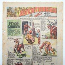 Tebeos: AVENTURERO AÑO IV Nº 134. FORMATO PEQUEÑO (VVAA) HISPANO AMERICANA, 1938. ORIGINAL. Lote 252593730