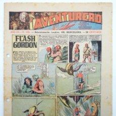 Tebeos: AVENTURERO AÑO III Nº 125. FORMATO PEQUEÑO (VVAA) HISPANO AMERICANA, 1937. ORIGINAL. Lote 252593760