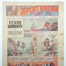 Tebeos: AVENTURERO AÑO III Nº 121. FORMATO PEQUEÑO (VVAA) HISPANO AMERICANA, 1937. ORIGINAL. Lote 252593770