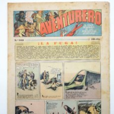 Tebeos: AVENTURERO. SEMANARIO DE LAS PORTENTOSAS AVENTURAS Nº 109 (VVAA) HISPANO AMERICANA, 1937. ORIGINAL. Lote 252593835