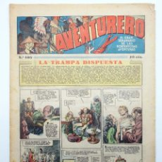 Tebeos: AVENTURERO. SEMANARIO DE LAS PORTENTOSAS AVENTURAS Nº 105 (VVAA) HISPANO AMERICANA, 1937. ORIGINAL. Lote 252593850