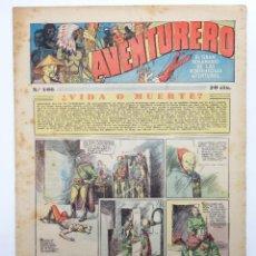 Tebeos: AVENTURERO. SEMANARIO DE LAS PORTENTOSAS AVENTURAS Nº 106 (VVAA) HISPANO AMERICANA, 1937. ORIGINAL. Lote 252593855