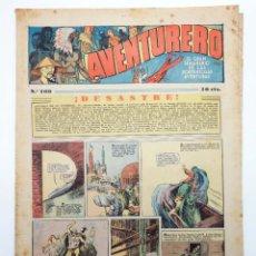 Tebeos: AVENTURERO. SEMANARIO DE LAS PORTENTOSAS AVENTURAS Nº 108 (VVAA) HISPANO AMERICANA, 1937. ORIGINAL. Lote 252593865