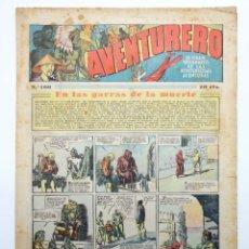 Tebeos: AVENTURERO. SEMANARIO DE LAS PORTENTOSAS AVENTURAS Nº 100 (VVAA) HISPANO AMERICANA, 1937. ORIGINAL. Lote 252593875