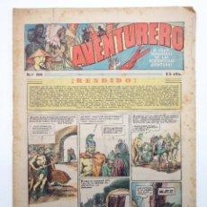 Tebeos: AVENTURERO. SEMANARIO DE LAS PORTENTOSAS AVENTURAS Nº 99 (VVAA) HISPANO AMERICANA, 1937. ORIGINAL. Lote 252593880