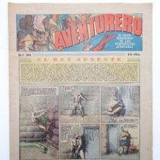 Tebeos: AVENTURERO. SEMANARIO DE LAS PORTENTOSAS AVENTURAS Nº 96 (VVAA) HISPANO AMERICANA, 1937. ORIGINAL. Lote 252593885