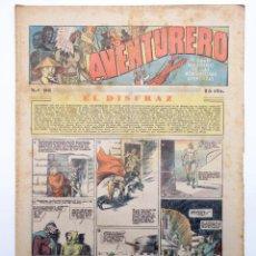Tebeos: AVENTURERO. SEMANARIO DE LAS PORTENTOSAS AVENTURAS Nº 98 (VVAA) HISPANO AMERICANA, 1937. ORIGINAL. Lote 252593895