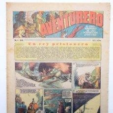 Tebeos: AVENTURERO. SEMANARIO DE LAS PORTENTOSAS AVENTURAS Nº 94 (VVAA) HISPANO AMERICANA, 1937. ORIGINAL. Lote 252593905