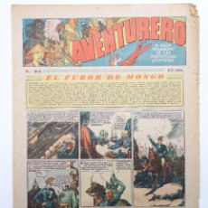 Tebeos: AVENTURERO. SEMANARIO DE LAS PORTENTOSAS AVENTURAS Nº 86 (VVAA) HISPANO AMERICANA, 1937. ORIGINAL. Lote 252593935