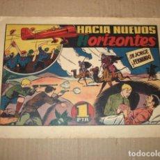 Tebeos: JORGE Y FERNANDO 42: HACIA NUEVOS HORIZONTES, 1943, HISPANO AMERICANA, BUEN ESTADO. Lote 252605460