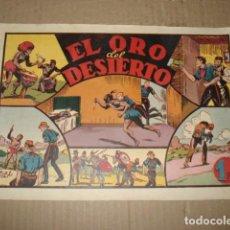 Tebeos: JORGE Y FERNANDO 30: EL ORO DEL DESIERTO, 1943, HISPANO AMERICANA, BUEN ESTADO. Lote 252607840