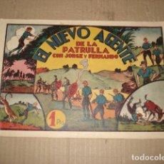Tebeos: JORGE Y FERNANDO 29: EL NUEVO AGENTE DE LA PATRULLA, 1943, HISPANO AMERICANA, BUEN ESTADO. Lote 252608215