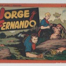 Tebeos: JORGE Y FERNANDO, ÁLBUM ROJO 2 DE 10, 1944, HISPANO AMERICANA, BUEN ESTADO. Lote 252609075