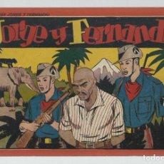 Tebeos: JORGE Y FERNANDO, ÁLBUM ROJO 6 DE 10, 1944, HISPANO AMERICANA, BUEN ESTADO. Lote 252609445