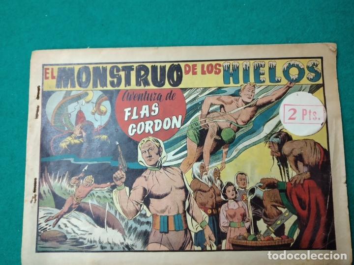 EL MONSTRUO DE LOS HIELOS. FLAS GORDON. HISPANOA AMERICANA DE EDICIONES. (Tebeos y Comics - Hispano Americana - Flash Gordon)
