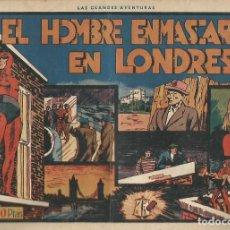 Tebeos: EL HOMBRE ENMASCARADO EN LONDRES Nº 11 ORIGINAL ED HISPANO AMERICANA. Lote 253910800