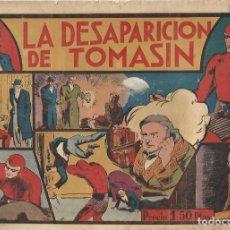 Tebeos: EL HOMBRE ENMASCARADO LA DESAPARICION DE TOMASIN Nº 14 ORIGINAL ED HISPANO AMERICANA. Lote 253911905