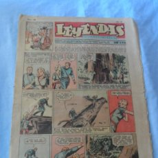 Tebeos: LEYENDAS INFANTILES Nº 169 AÑO 1937 EDITORIAL HISPANO AMERICANA. Lote 254052600