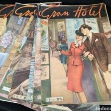 Giornalini: GRAN HOTEL, COLECCION COMPLETA 14 EJEMPLARES, 1947. Lote 254328800
