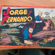 Tebeos: JORGE Y FERNANDO ALBUM ROJO Nº 2 (HISPANO AMERICANA) ORIGINAL (COIB9). Lote 254376040