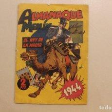 Tebeos: ALMANAQUE MERLÍN, EL REY DE LA MAGIA, 1944, ORIGINAL. Lote 254500555