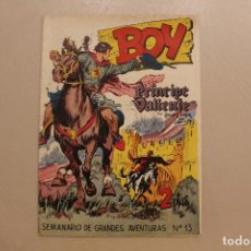 Giornalini: BOY, PRÍNCIPE VALIENTE, NÚM. 13, HAROLD R. FOSTER, GAMARRO. Lote 254503785