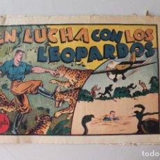 Tebeos: EN LUCHA CONTRA LOS LEOPARDOS, JUAN CENTELLA. Lote 254518200