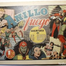 """Tebeos: LAS GRANDES AVENTURAS, HISPANO AMERICANA 1946, NÚMERO """"EL ANILLO DEL FUEGO"""". Lote 254568065"""