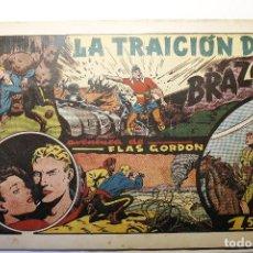 """Tebeos: LAS GRANDES AVENTURAS, HISPANO AMERICANA 1946, NÚMERO 20 """"LA TRAICIÓN DE BRAZOR"""". Lote 254575070"""