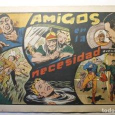 """Tebeos: LAS GRANDES AVENTURAS, HISPANO AMERICANA 1946, NÚMERO 21 """"AMIGOS EN LA NECESIDAD"""". Lote 254575460"""