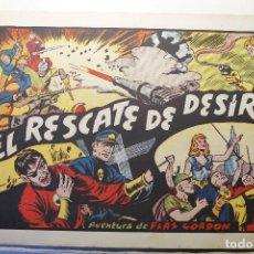 """Tebeos: LAS GRANDES AVENTURAS, HISPANO AMERICANA 1946, NÚMERO 22 """"EL RESCATE DE DESÍRA"""". Lote 254576035"""