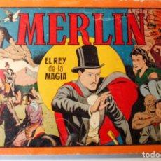 Tebeos: MERLIN EL MAGO, EDITORIAL HISPANO AMERICANA 1942 ALBÚM ROJO NÚMERO 2. Lote 254683685