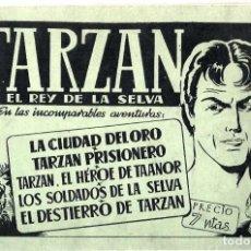 Tebeos: TARZÁN, ALBUM VERDE Nº 2 DE HISPANO AMERICANA EDICIONES - ORIGINAL AÑOS 40- BUEN ESTADO. Lote 254973070