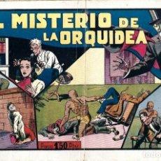 Tebeos: EL MISTERIO DE LA ORQUIDEA DE HISPANO AMERICANA ED. - ORIGINAL AÑOS 40-. Lote 254985265