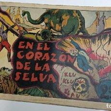Tebeos: EN EL CORAZÓN DE LA SELVA DE HISPANO AMERICANA ED. - ORIGINAL AÑOS 40-. Lote 254986770