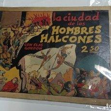 Tebeos: LA CIUDAD DE LOS HOMBRES HALCÓN CON FLAS GORDON DE HISPANO AMERICANA ED. - ORIGINAL AÑOS 40-. Lote 254989460