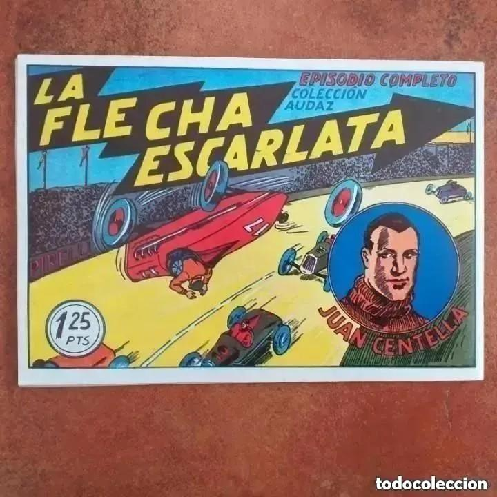 Tebeos: JUAN CENTELLA - EN EL FONDO DEL OCÉANO + LA FLECHA ESCARLATA. NUM 3 REEDICION - Foto 2 - 255421730
